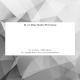 Carte de correspondance privée avec enveloppes assorties