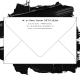 Enveloppes blanches format 90 x 140 pour cartes de visite