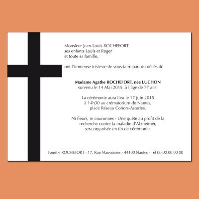 Grande croix noire
