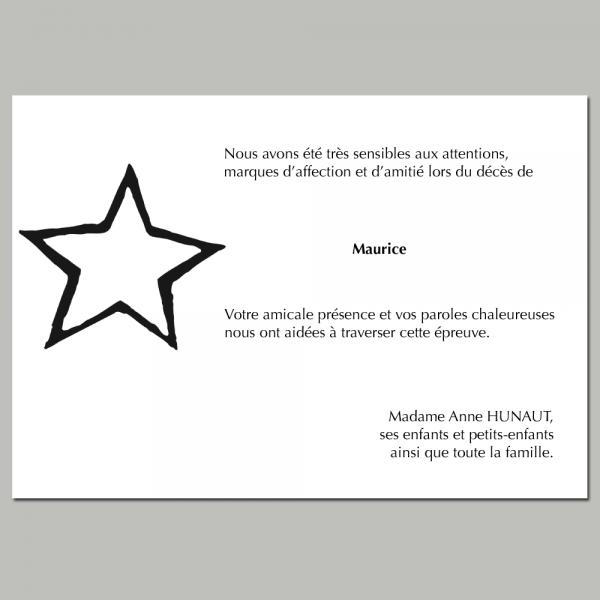 Modèle 8 : l'étoile