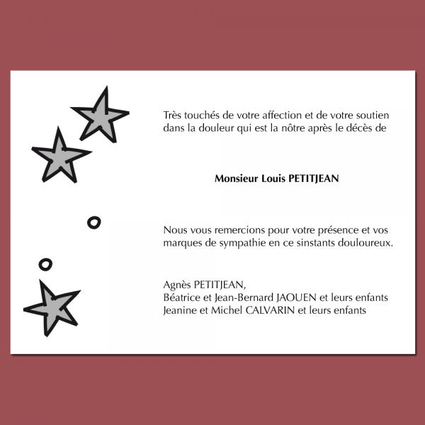 Modèle 9 : Stars