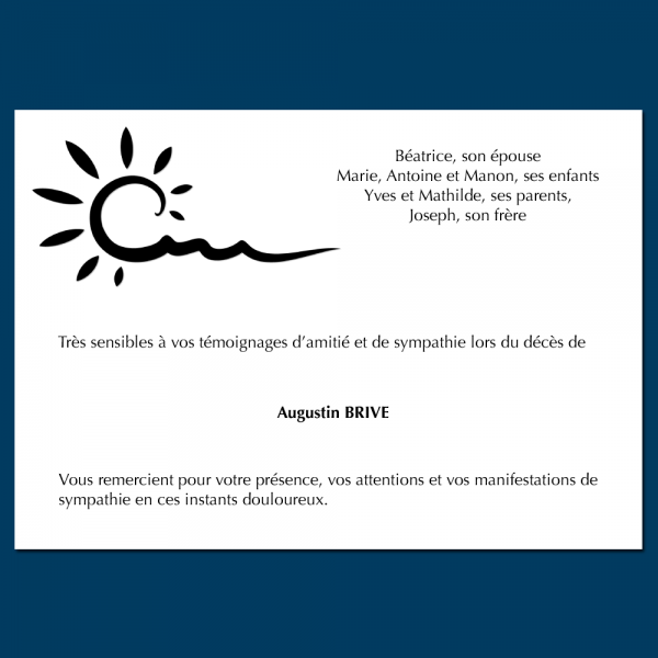 Modèle 10 : Soleil abstrait