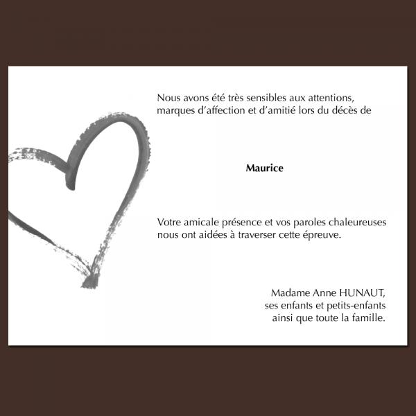 Modèle 13 : coeur