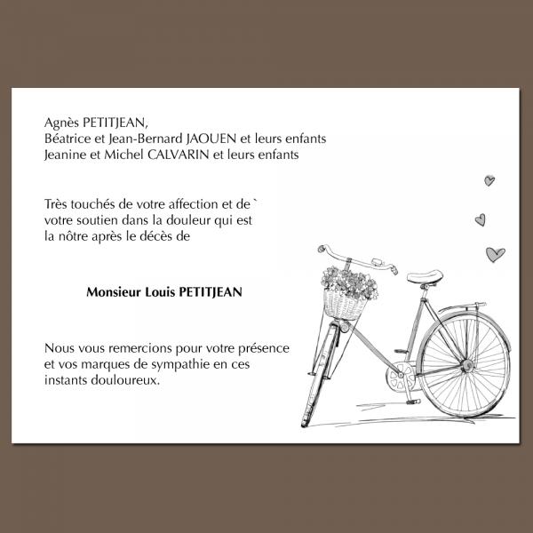 Modèle 12 : Vélo solitaire