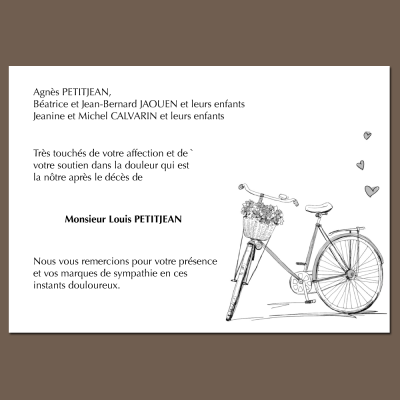 Vélo solitaire