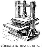 press offset